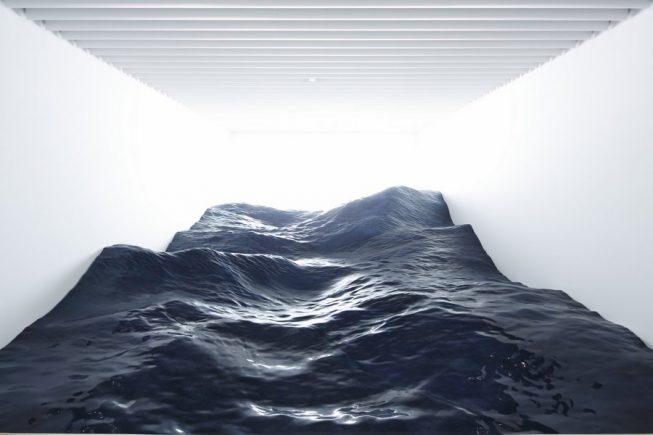 Una escultura de olas | Art Unit Mé